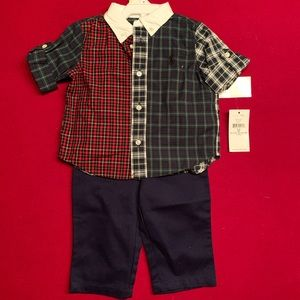 Ralph Lauren Baby Boy 2 Piece set.